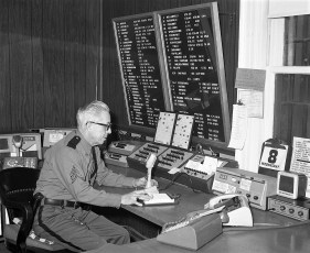 Col. Cty. Sheriff's Radio Room 1972