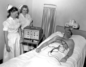 CMH 1956 Nurses monitor Pacemaker