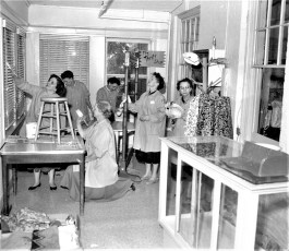 CMH 1958 Pink Ladies painting Thrift Shop