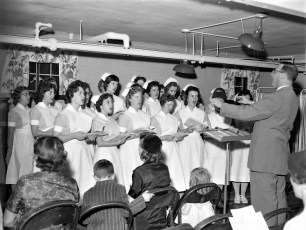 CMH 1959 Nurses Xmas Party