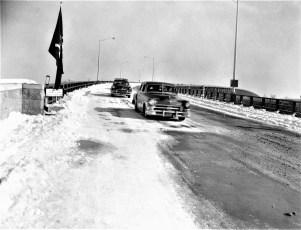 Kingston Rhinecliff Bridge Opening Averell Harriman Feb 1957 (4)