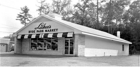 Lasher's Hyde Park Market Route 9 1964 (1)