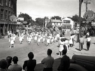 Hudson Firemans Parade 1945 (3)