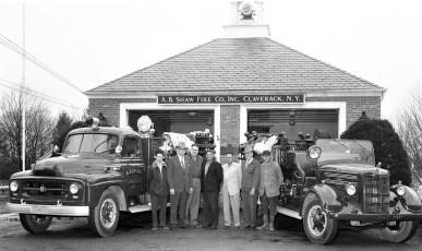 A.B. Shaw Fire Co. Claverack 1956 (1)