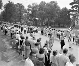Col. Cty Volunteer Fireman's Parade Livingston 1958 (10)