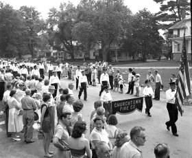 Col. Cty Volunteer Fireman's Parade Livingston 1958 (8A)