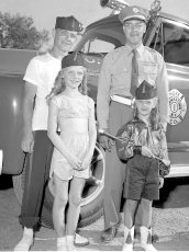 Col. Cty. Firemans Parade in Canaan 1956 (13)