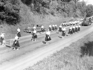 Col. Cty. Firemans Parade in Canaan 1956 (2)