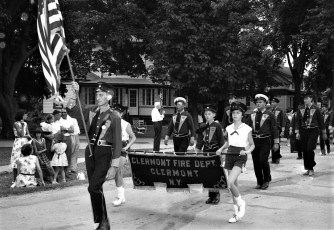 Col. Cty. Volunteer Fireman's Parade Copake 1958 (3)