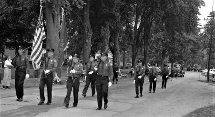 Col. Cty. Volunteer Fireman's Parade Copake 1958 (5)