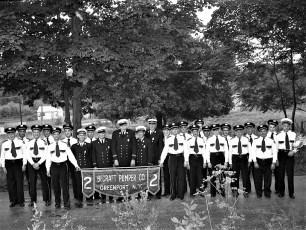 Greenport NY Fireman's Parade 1951