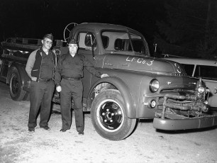 Linlithgo Fire Dept 1953