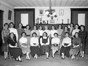 Philmont Fire Dept. Ladies Aux. 1955