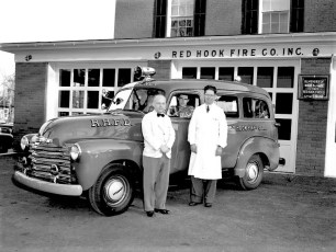 Red Hook Fire Co.'s new Emergency Truck 1952
