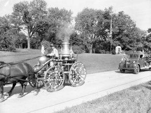 Tivoli Parade Labor Day 1956