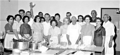 Churchtown Fire Dept. Kitchen Crew 1969