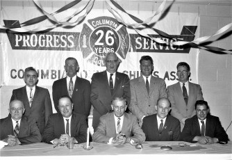 Col. Cty. Fire Chief's Asso. Past Presidents Dinner 1961