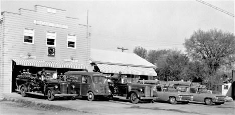 Greenport Fire Dept. Rescue Squad & Pumper Co. fleet 1962