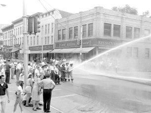 Multi Fire Company Emergency Water Test Warren St. Hudson 1964 (5)