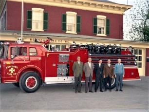 Red Hook Fire Dept. new pumper 1969