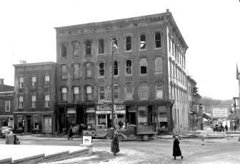 Catskill Fire Main Street Jan. 1951 (2)