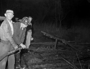 Claverack Fire unknown location Oct. 1956