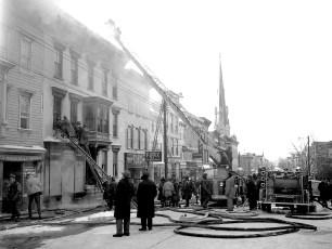 Hudson Fire General Alarm Warren Street Feb. 1951 (1)