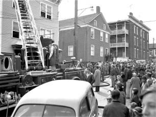 Hudson Fire Jack Thompson's Grill 2nd St. Mar. 1958 (2)