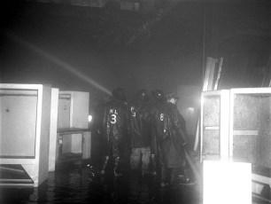 Hudson Fire McCall Refrigerator Co. Plant Feb. 1952 (2)