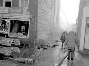 Hudson Fire Meiner's Columbia St. Dec. 1957 (2)