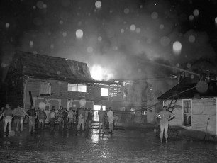 Kinderhook Fire Van Alstyne's Barn Aug. 1959 (3)