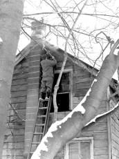 Tivoli Fire Whalesback Road Jan. 1957 (2)