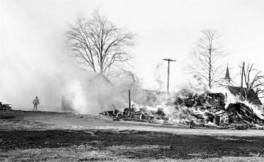 Clermont Fire Geo. Saulpaugh basket shop Dec. 1968 (2)