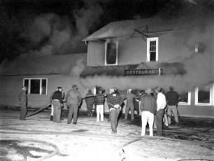 Clermont Fire Lights Inn Rt. 9 Oct. 1960 (1)