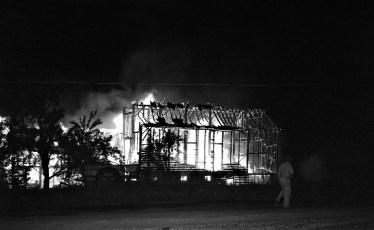 G'town Fire Charles Allen's barn Aug. 1962