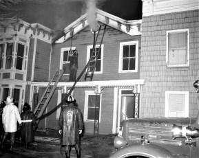 Hudson Fire 44 N. Fifth St. Waltermire's Store Jan. 1965 (3)