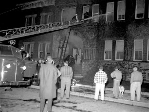Hudson Fire 4th Street School Nov. 1961 (1)