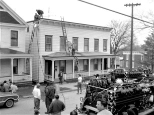 Hudson Fire 932  934  Columbia St. Apr. 1965