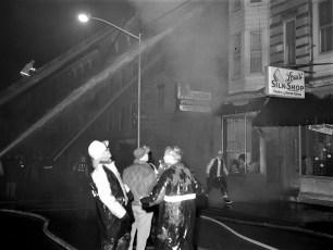 Hudson Fire Byron Parker Bldg. Warren St. Nov. 1966 (8)