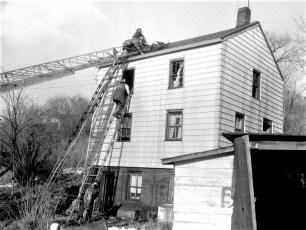 Hudson Fire John White's Tanner Lane Feb. 1961