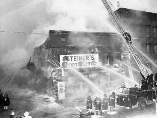 Hudson Fire Steiner's Sports Center date unknown (2)