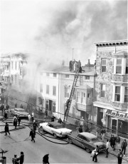 Hudson Fire Warren St. Good Friday Apr. 1965 (1)