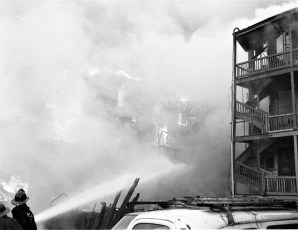 Hudson Fire Warren St. Good Friday Apr. 1965 (5)