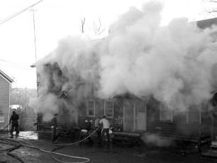 Mellenville Fire Rt. 217 Nov. 1962 (3)
