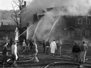Mellenville Fire Rt. 217 Nov. 1962 (5)