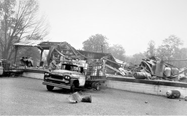 Millerton (Irondale) Fire Suburban Propane explosion & fire Sept. 1965 (3)