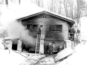Red Hook Fire Spring Lake Road Feb. 1964 (2)