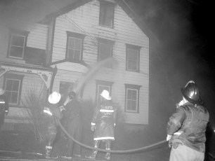 Stottville Fire two family house Dec. 1965 (1)
