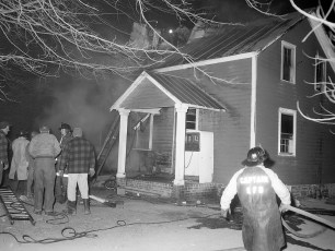 Stuyvesant Falls Fire Bortugno Dairy Farm tenant house Feb. 1968 (1)