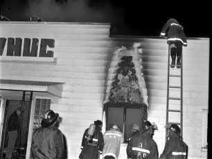 Greenport Fire WHUC Radio Station Rt. 66 Apr. 1972 (3)